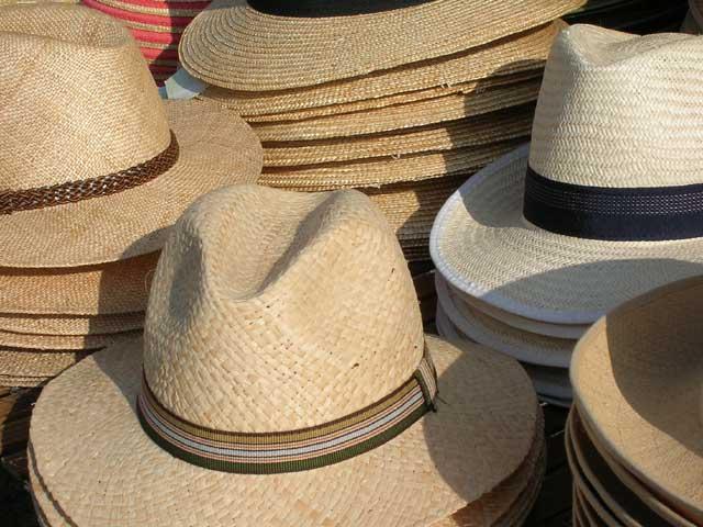 Hats At The Foire Market, Souillac