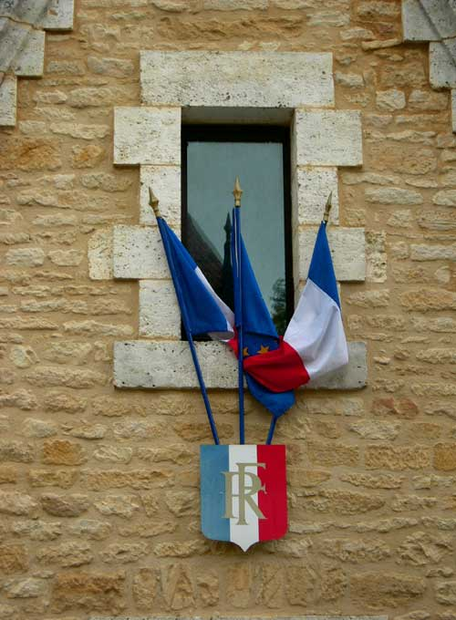 Flags At The Mairie