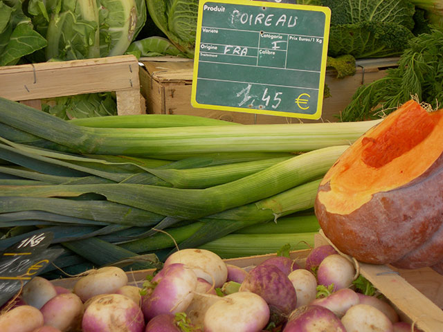Soup Makings From The Souillac Market