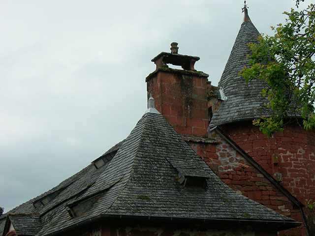 Slate Rooftops, Collanges La Rouge